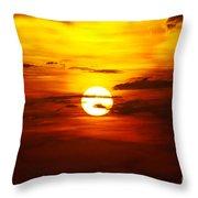 Sun 32 Throw Pillow