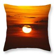 Sun 33 Throw Pillow