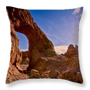 Sun And Arch Throw Pillow
