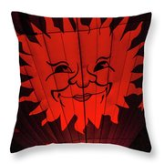 Sun And Fire Throw Pillow