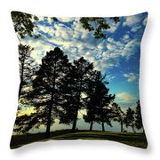 Sun And Shadow By Earl's Photography Throw Pillow