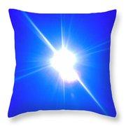 Sun And Sky Over The St. Jons II Throw Pillow