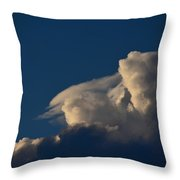 Sun Before The Storm Throw Pillow