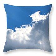 Sun Behind The Clouds 2 Throw Pillow