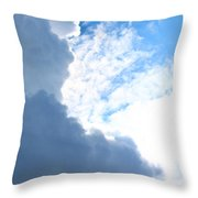 Sun Behind The Clouds 3 Throw Pillow