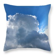 Sun Behind The Clouds 4 Throw Pillow