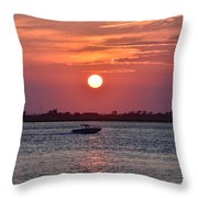 Sun Chasing Throw Pillow