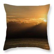 Sun Cloud Mountain Throw Pillow