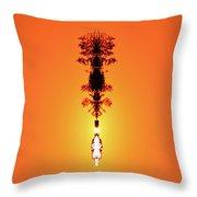 Sun Crown Light Two  Throw Pillow