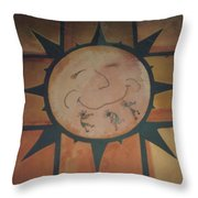 Sun Dance Tile Kit Throw Pillow