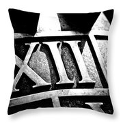 Sun Dial Throw Pillow