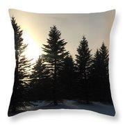Sun Dog Series 5 Throw Pillow