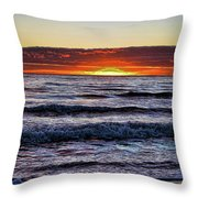 Sun-down Throw Pillow