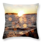 Sun Drops  Throw Pillow