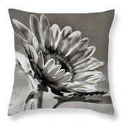 Sun Flower - Id 16235-142753-8673 Throw Pillow
