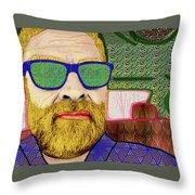 Sun Glasses Throw Pillow