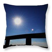 Sun Gleam Throw Pillow