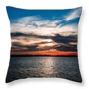 Sun Going Down Throw Pillow