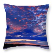 Sun Has Set Throw Pillow