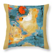 Sun In Throw Pillow