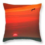 Sun Is Up Throw Pillow