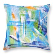 Sun Kissed I Throw Pillow