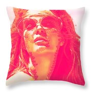 Sun Kissed Pearlesqued Throw Pillow