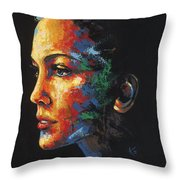 Sun Kissed - With Hidden Pictures Throw Pillow