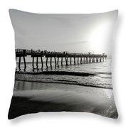 Sun Led Throw Pillow by Eric Christopher Jackson