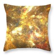 Sun Marble Throw Pillow