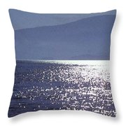 Sun On The Ocean Two  Throw Pillow