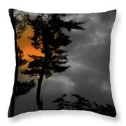 Sun Over Spring Ridge Throw Pillow