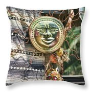 Sun Power Puerto Vallarta  Throw Pillow
