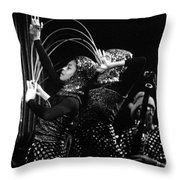 Sun Ra Arkestra And Dancers Throw Pillow