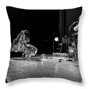 Sun Ra Arkestra At Freeborn Hall Throw Pillow