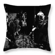 Sun Ra Arkestra At The Red Garter 1970 Nyc 1 Throw Pillow