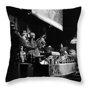 Sun Ra Arkestra At The Red Garter 1970 Nyc 10 Throw Pillow
