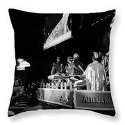 Sun Ra Arkestra At The Red Garter 1970 Nyc 11 Throw Pillow