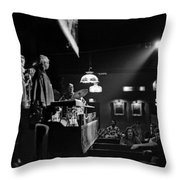 Sun Ra Arkestra At The Red Garter 1970 Nyc 12 Throw Pillow