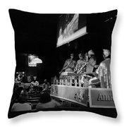 Sun Ra Arkestra At The Red Garter 1970 Nyc 13 Throw Pillow