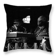 Sun Ra Arkestra At The Red Garter 1970 Nyc 14 Throw Pillow