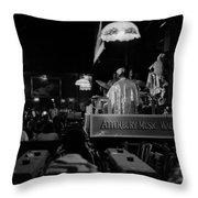 Sun Ra Arkestra At The Red Garter 1970 Nyc 15 Throw Pillow