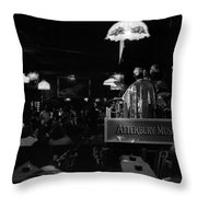 Sun Ra Arkestra At The Red Garter 1970 Nyc 16 Throw Pillow