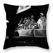 Sun Ra Arkestra At The Red Garter 1970 Nyc 18 Throw Pillow
