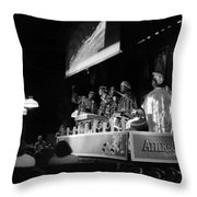 Sun Ra Arkestra At The Red Garter 1970 Nyc 19 Throw Pillow