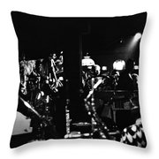Sun Ra Arkestra At The Red Garter 1970 Nyc 2 Throw Pillow