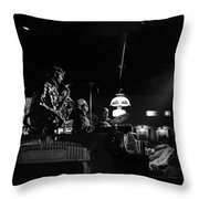 Sun Ra Arkestra At The Red Garter 1970 Nyc 21 Throw Pillow