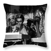 Sun Ra Arkestra At The Red Garter 1970 Nyc 36 Throw Pillow