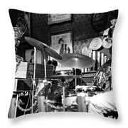 Sun Ra Arkestra At The Red Garter 1970 Nyc 9 Throw Pillow