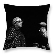 Sun Ra Throw Pillow